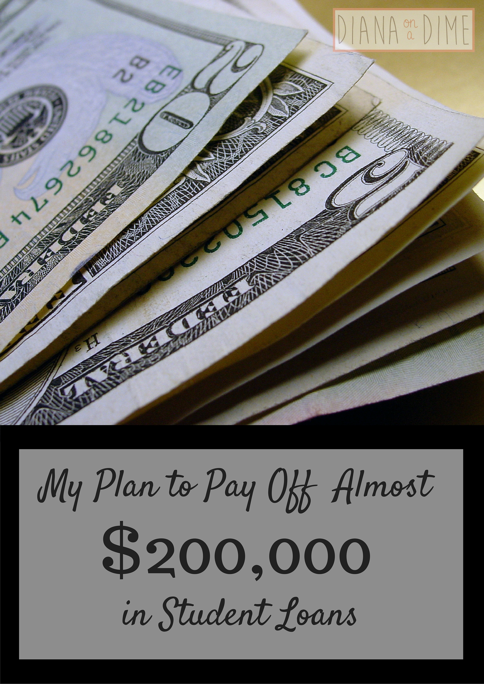 Plan to Pay Off Student Loans