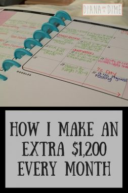 How I Make an Extra $1,200 Every Month