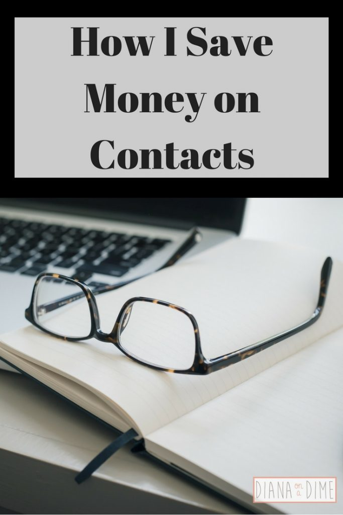 How I Save Money on Contacts