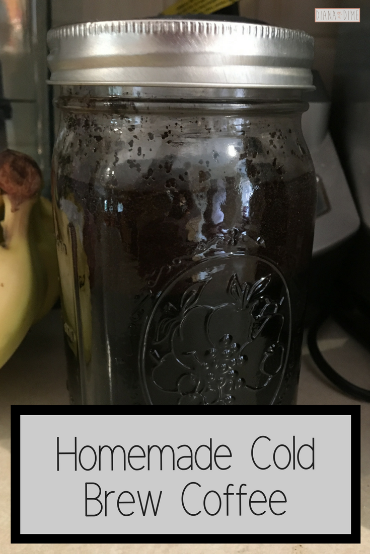 Homemade Cold Brew Coffee