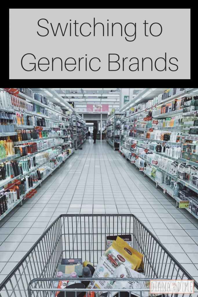 Switching to Generic Brands