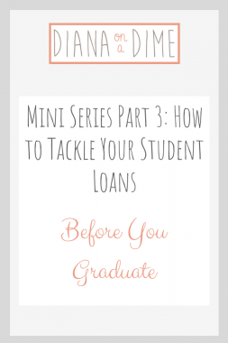 Tackle Student Loans Part 3