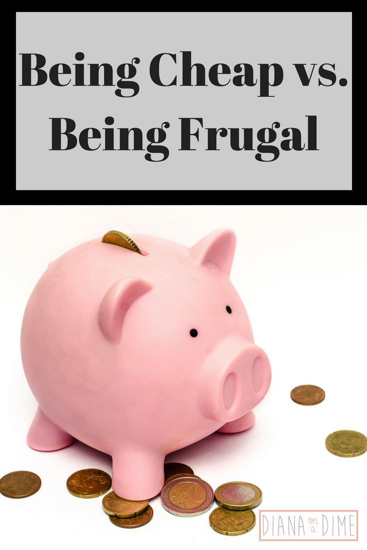 Being Cheap vs. Being Frugal