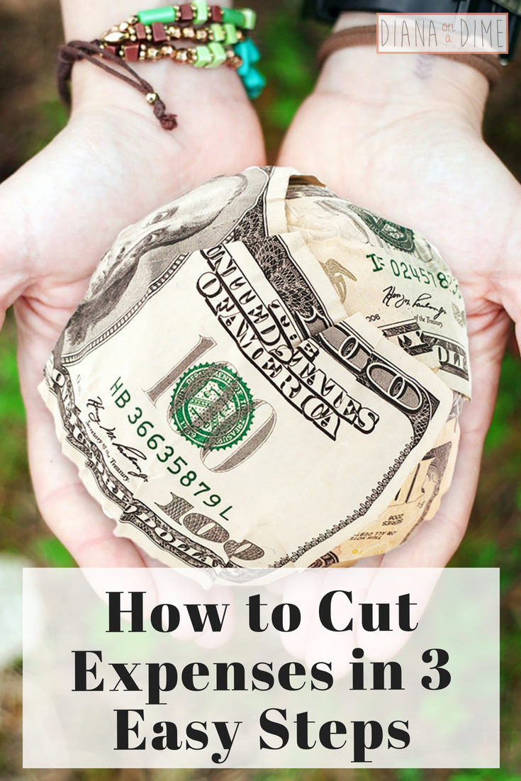 How to Cut Expenses in 3 Easy Steps