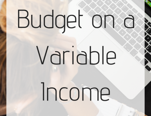 How to Budget on a Variable Income