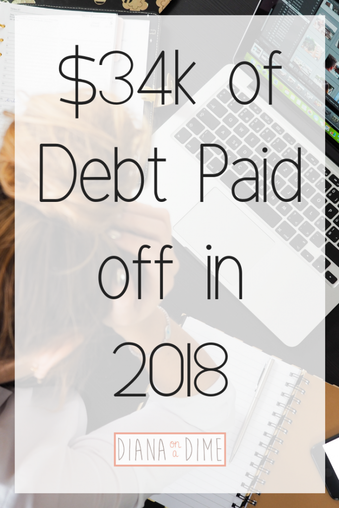 $34k of Debt Paid off in 2018