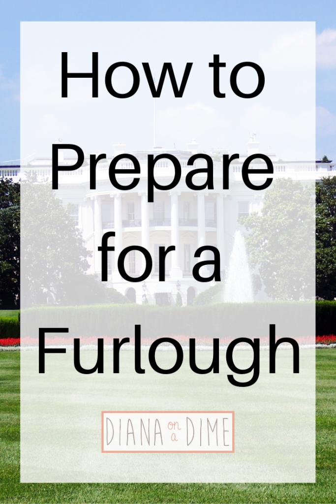 How to Prepare for a Furlough