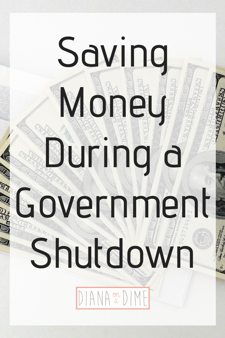 Saving Money During a Government Shutdown
