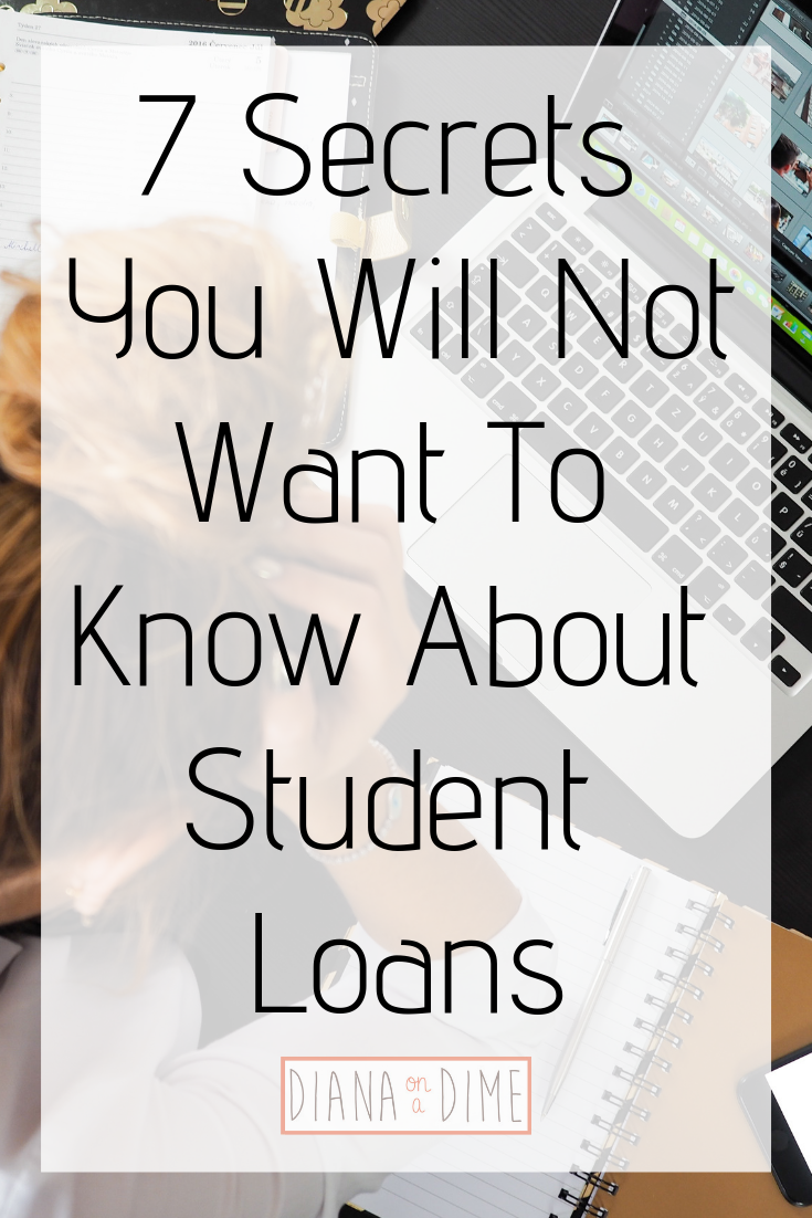 7 Secrets You Will Not Want To Know About Student Loans