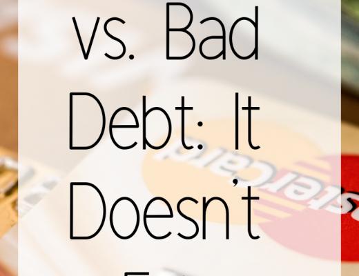 Good Debt vs. Bad Debt_ It Doesn't Exist