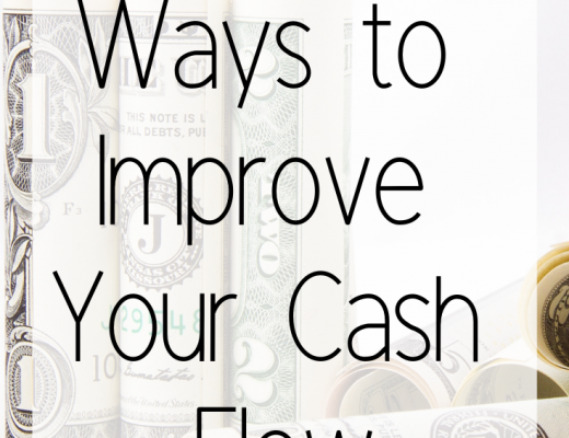 3 Simple Ways to Improve Your Cash Flow