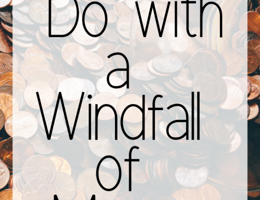 What to Do with a Windfall of Money
