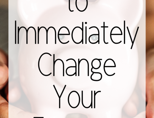 3 Things to Immediately Change Your Finances