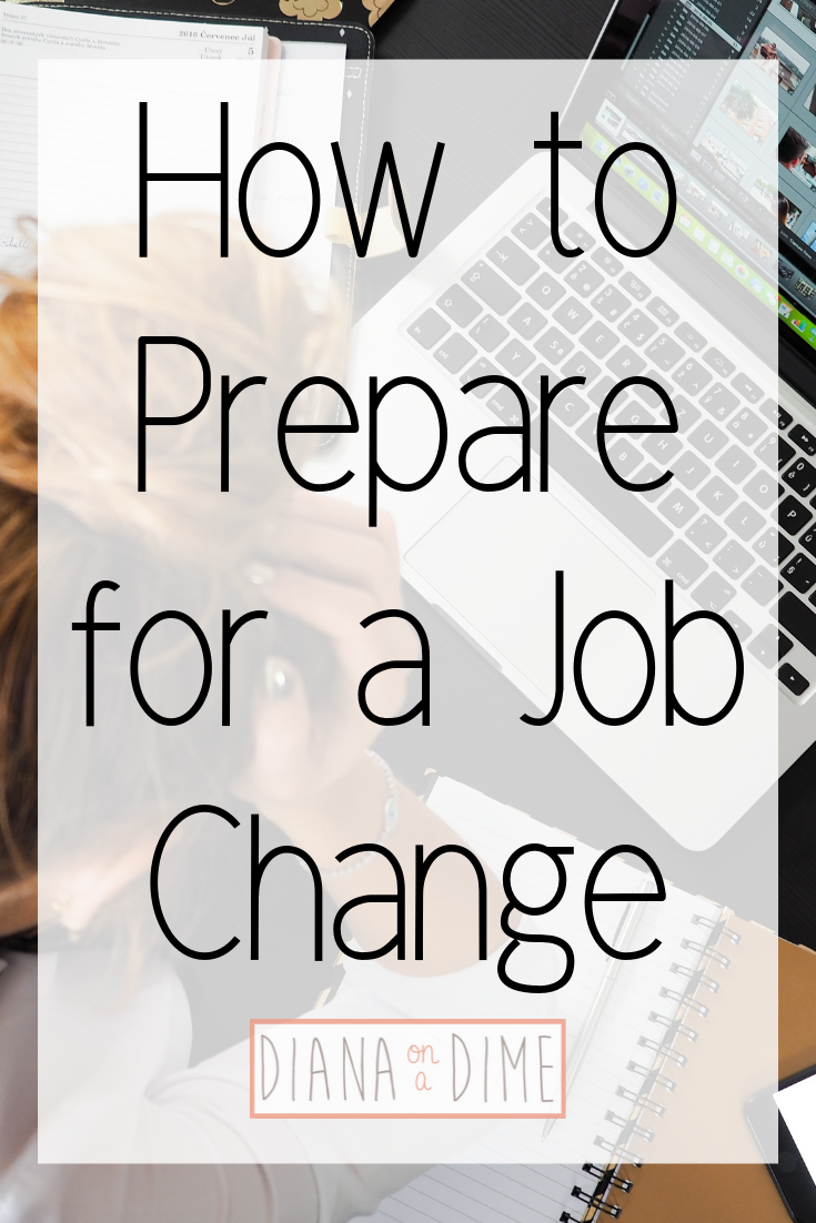 How to Prepare for a Job Change