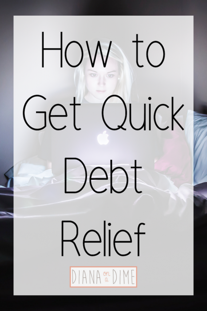 How to Get Quick Debt Relief