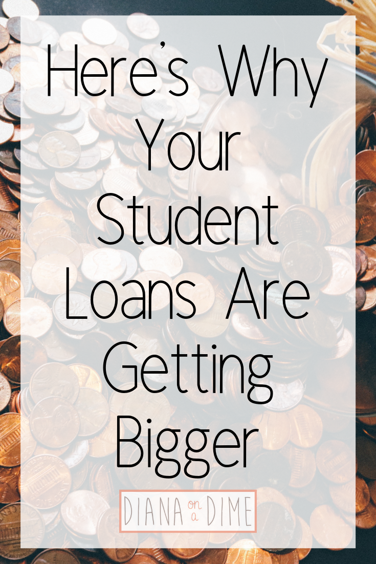 Here's Why Your Student Loans Are Getting Bigger