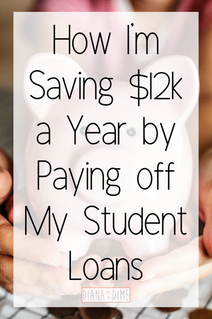 How I'm Saving $12k a Year by Paying off My Student Loans