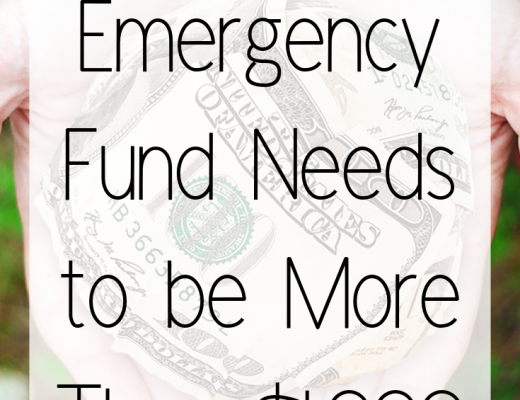 Why an Emergency Fund Needs to be More Than $1,000