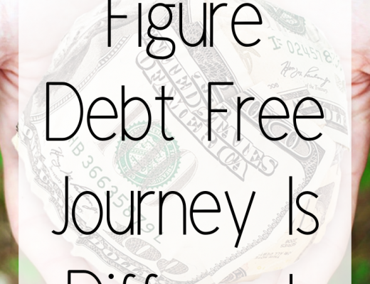How a 6 Figure Debt Free Journey Is Different