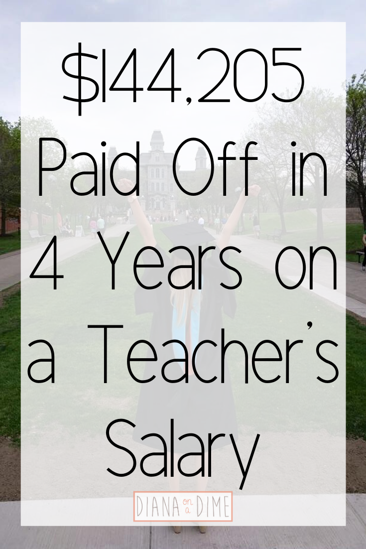 $144,205 Paid Off in 4 Years on a Teacher's Salary